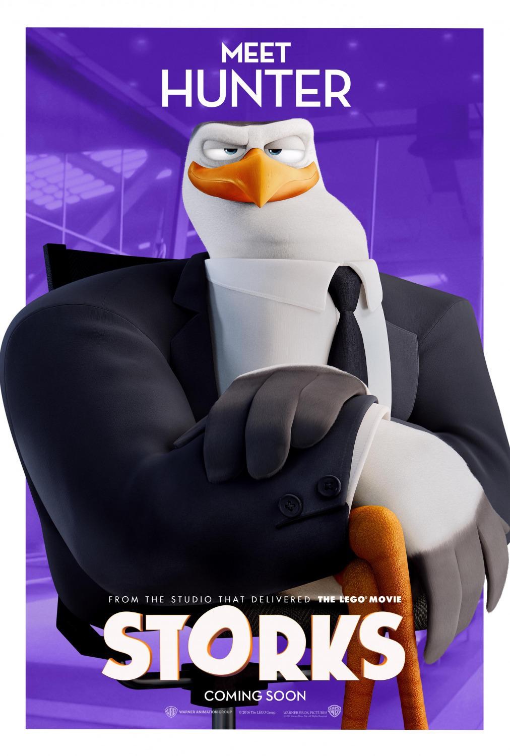 Storks - Cicogne - Hunter Boss