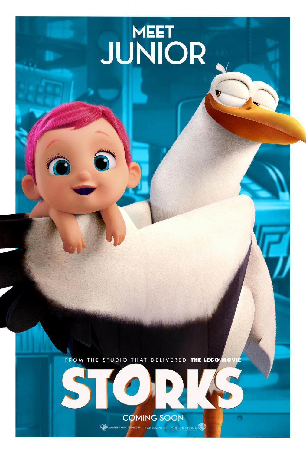 Storks - Cicogne - Junior