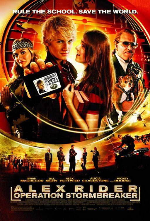 Alex Rider operation Stormbreaker - film poster