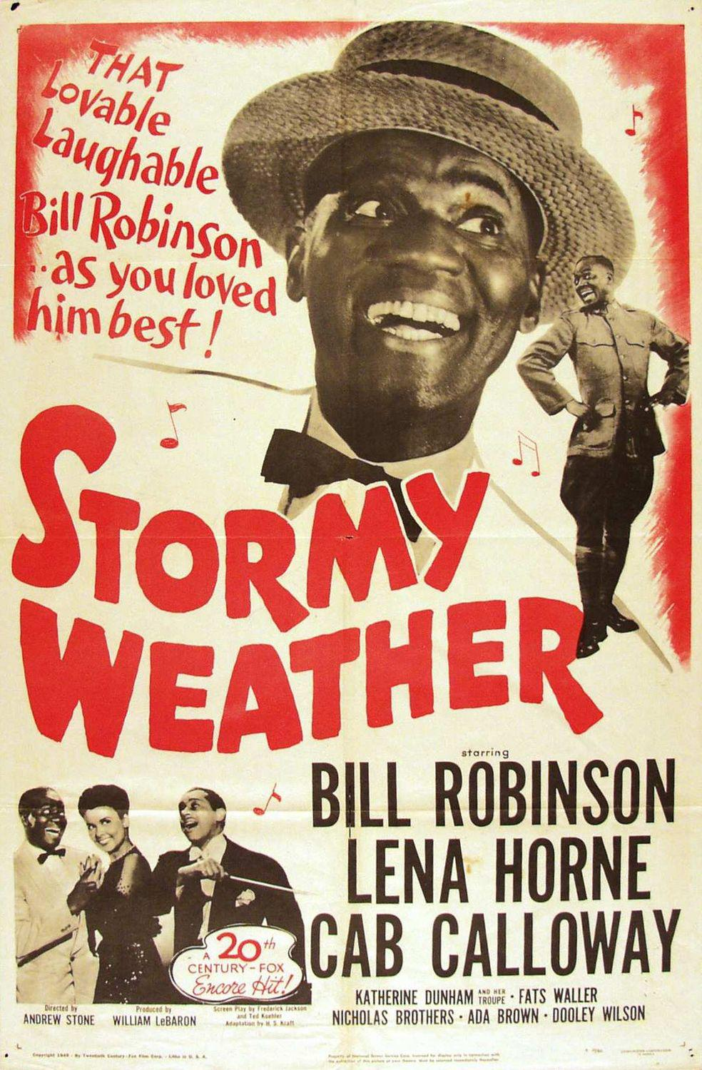 Stormy Weather - That Lovable Laughable Bill Robinson as you loved him best