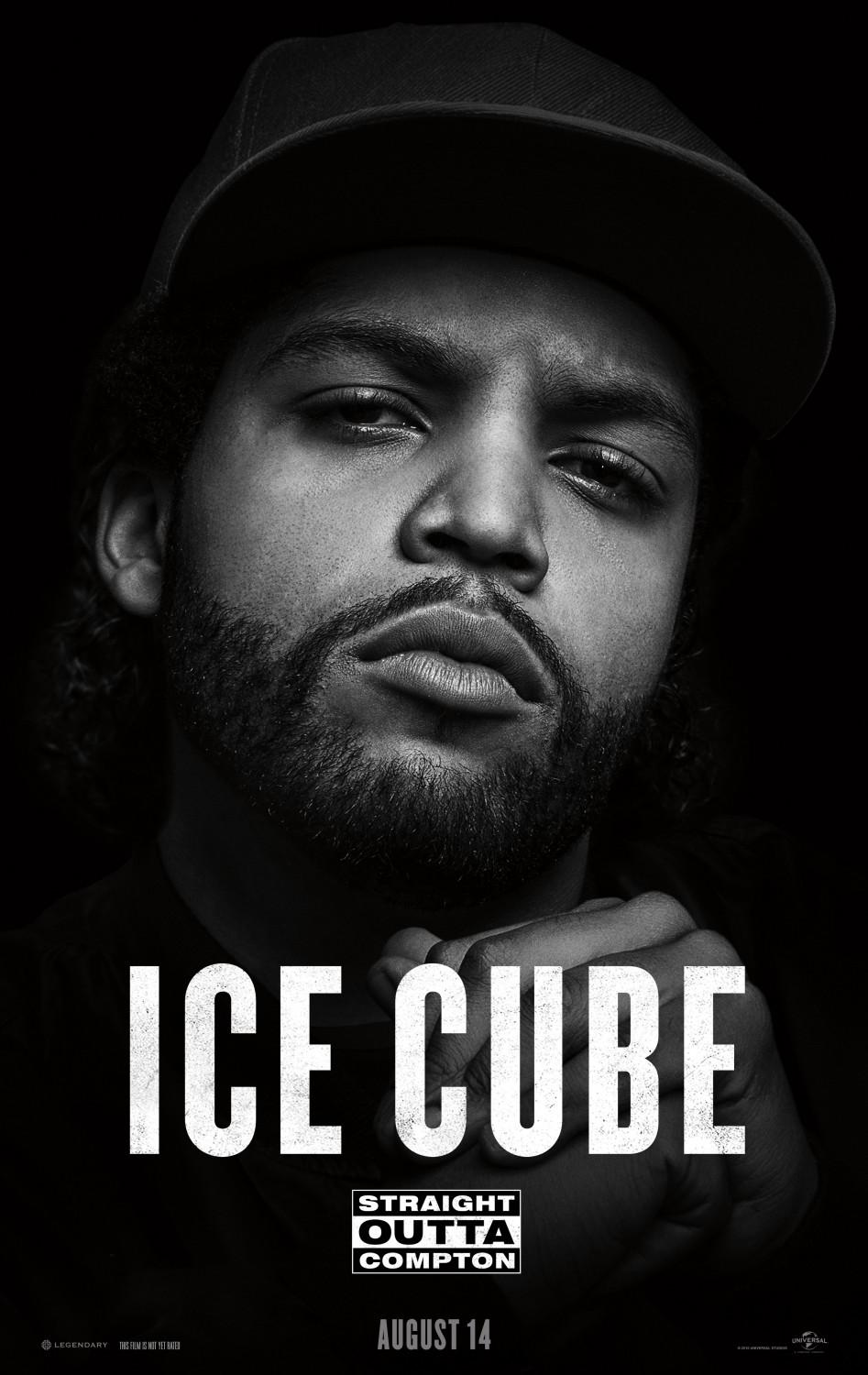 Straight outta Compton - film music poster - ICE CUBE