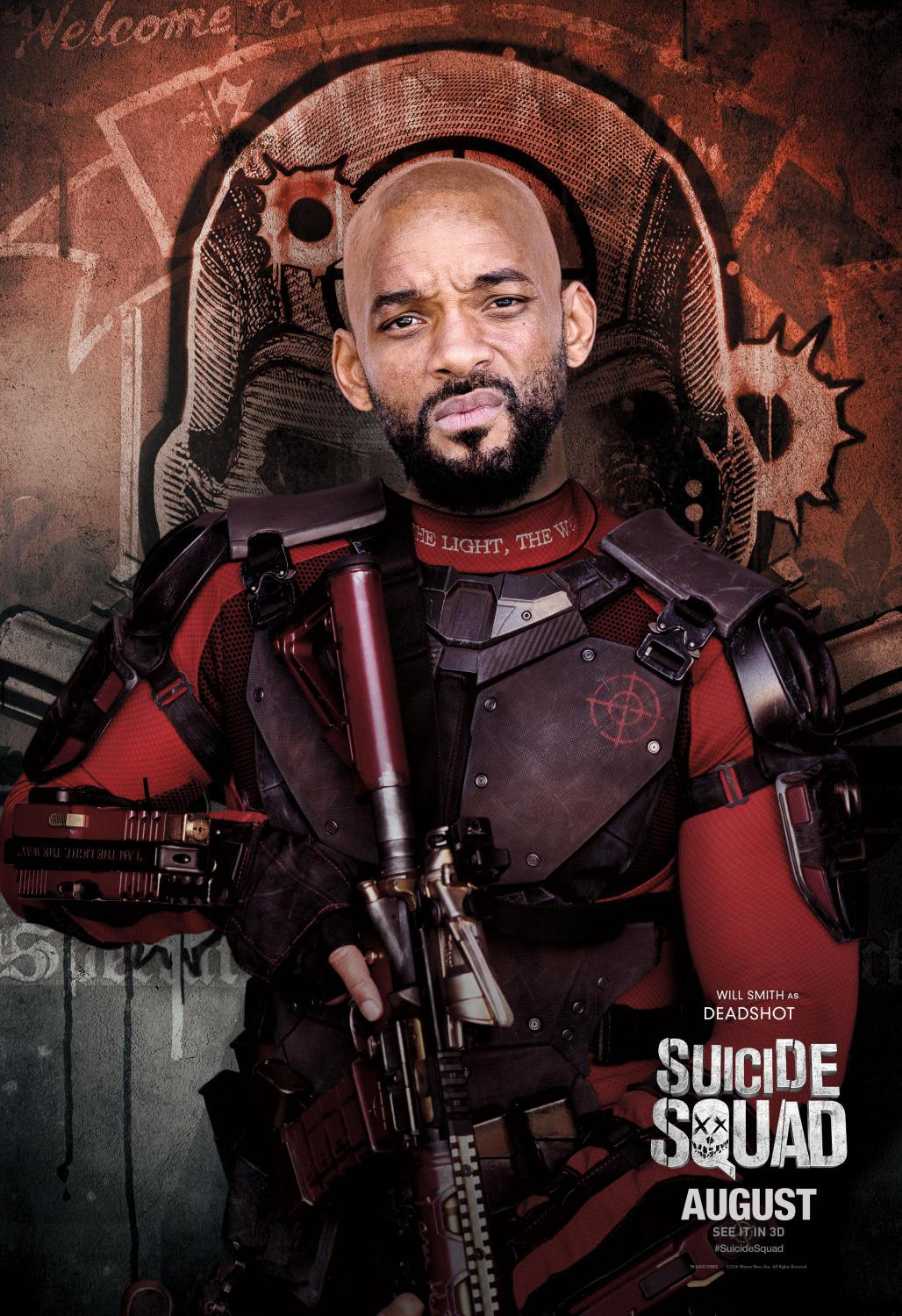 Suicide Squad - Will Smith - Deadshot