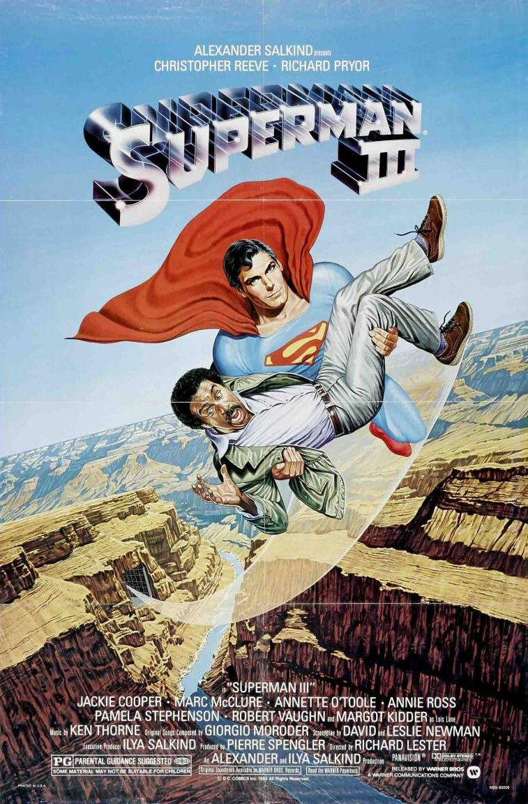 Superman III - poster - Christopher Reeve