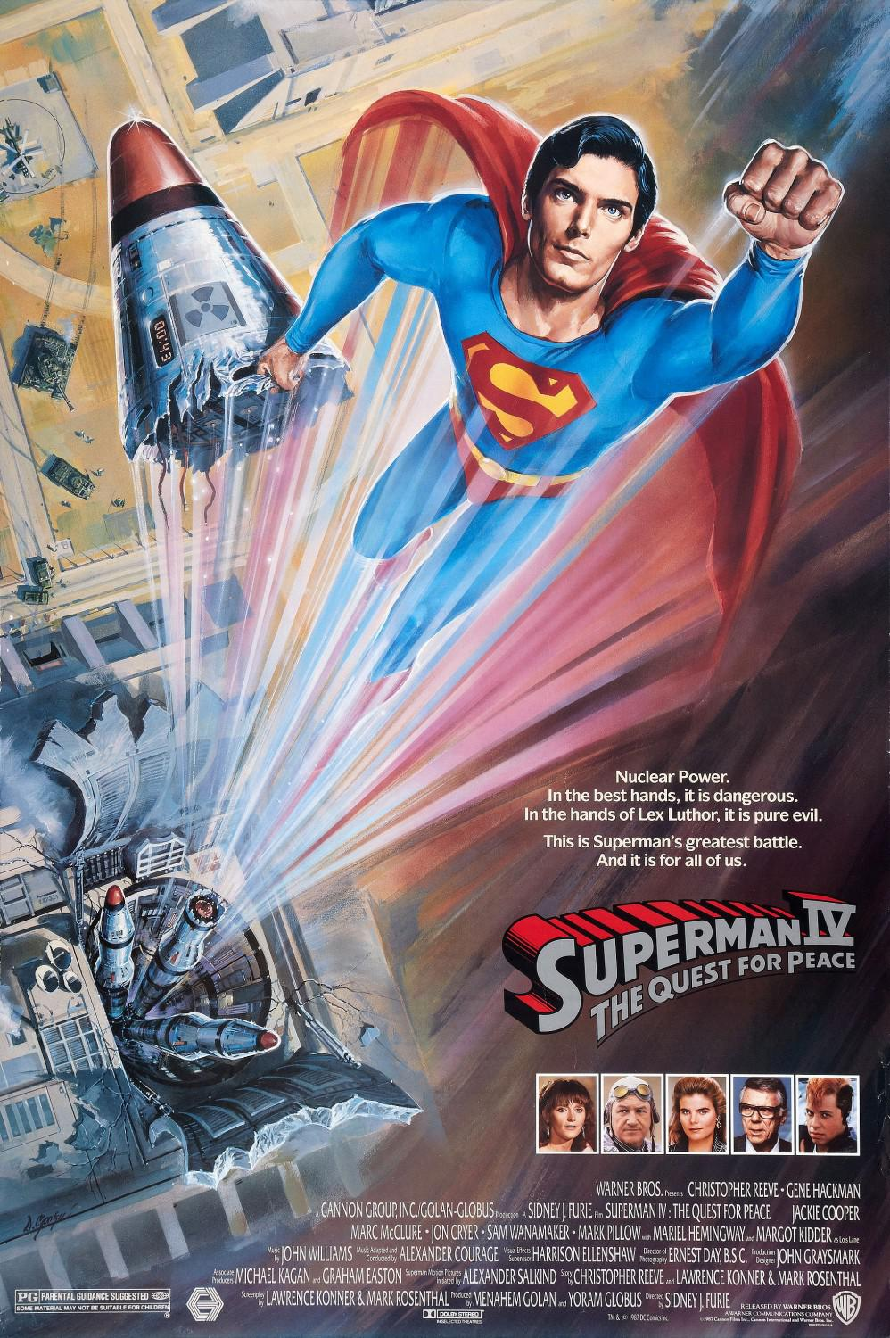 Superman 4 - Christopher Reeve