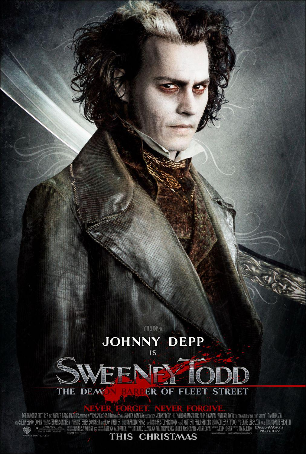 Sweeney Todd - Il diabolico barbiere di Fleet Street - The Demon Barber of Fleet Street - Johnny Depp