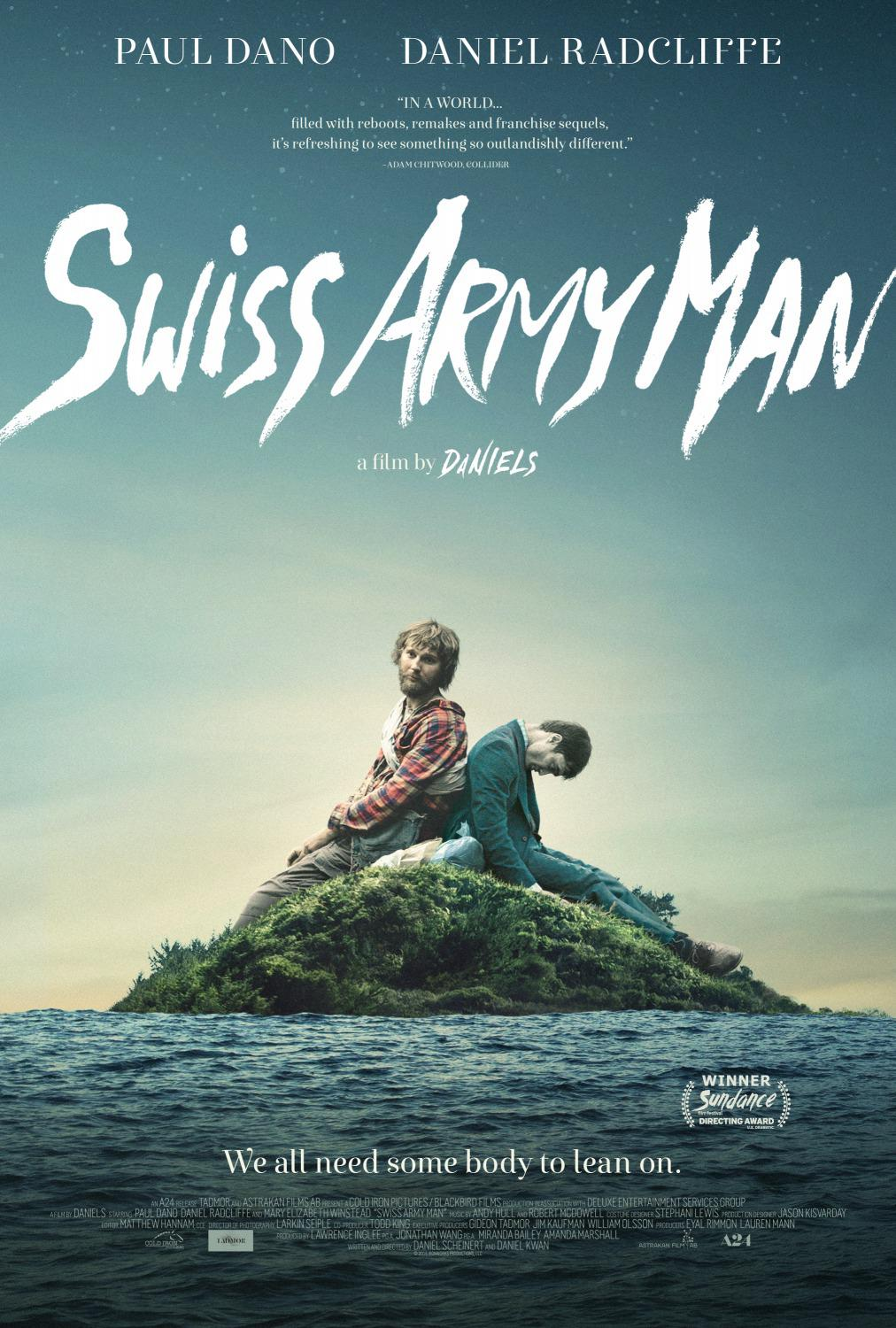 Swiss Army Man - Hank (Paul Dano) - Manny (Daniel Radcliffe)