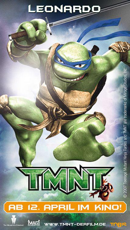 TMNT - Teenage Mutant Ninja Turtles 1 - Leonardo