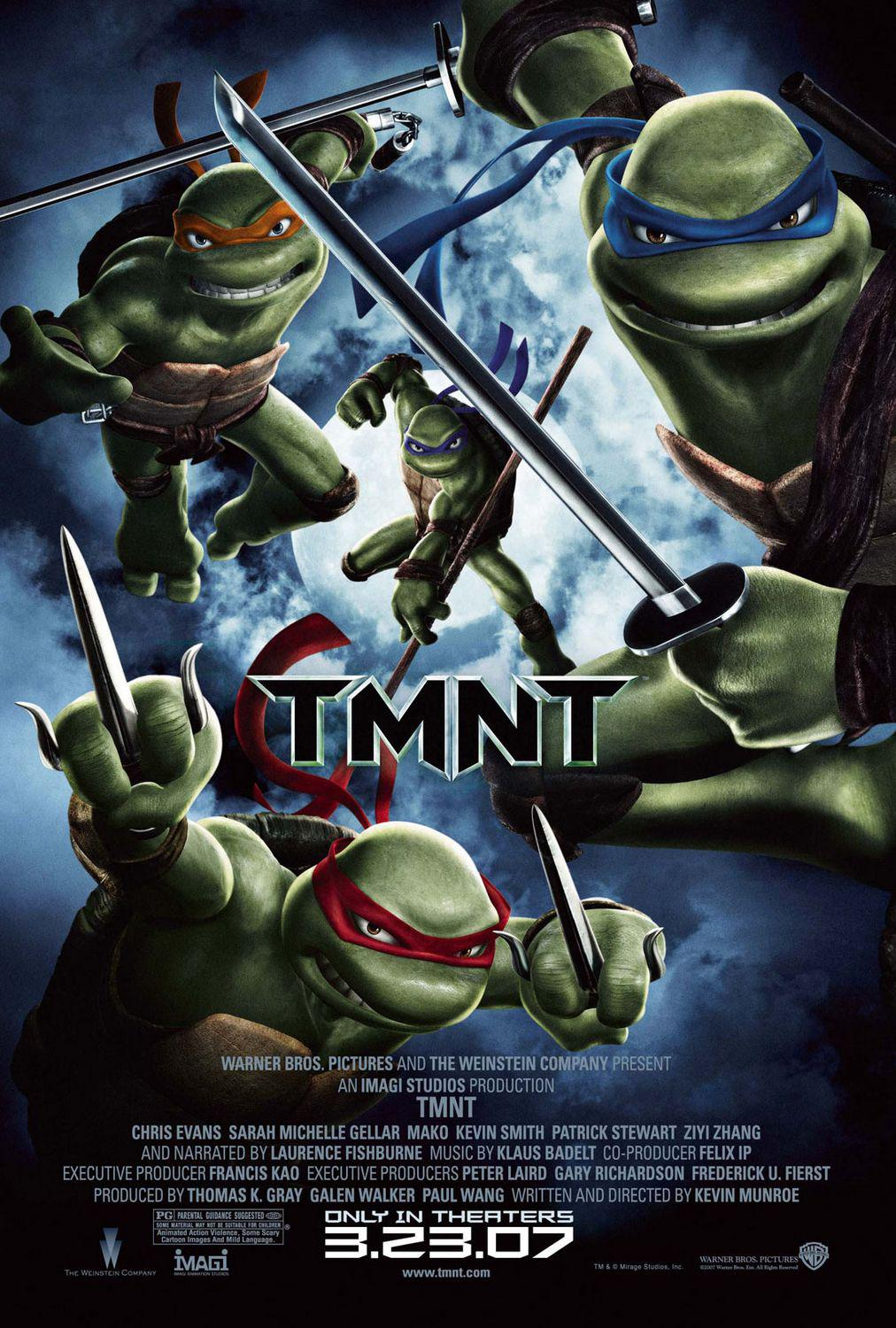TMNT - Teenage Mutant Ninja Turtles 3 (2007)