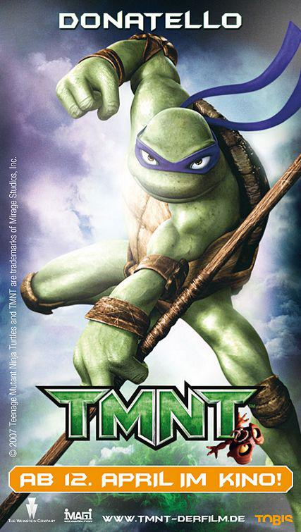TMNT - Teenage Mutant Ninja Turtles 1 - Donatello