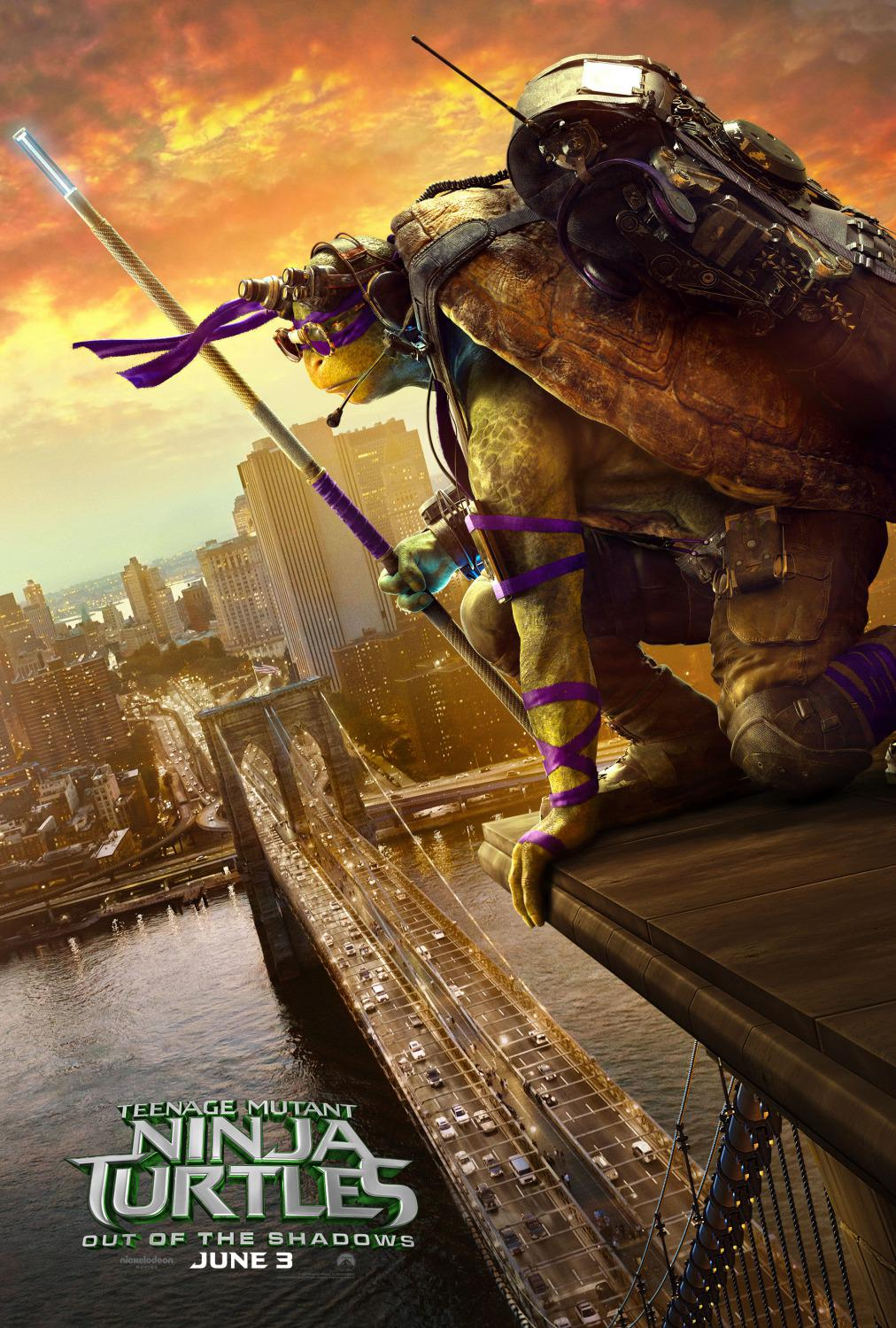 TMNT - Teenage Mutant Ninja Turtles out of the Shadows - Fuori dall'Ombra (2016)