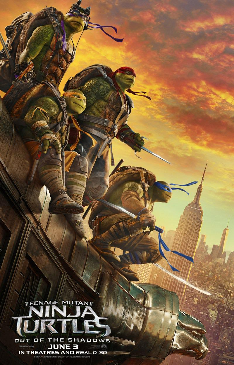 TMNT - Teenage Mutant Ninja Turtles out of the Shadows (2016)