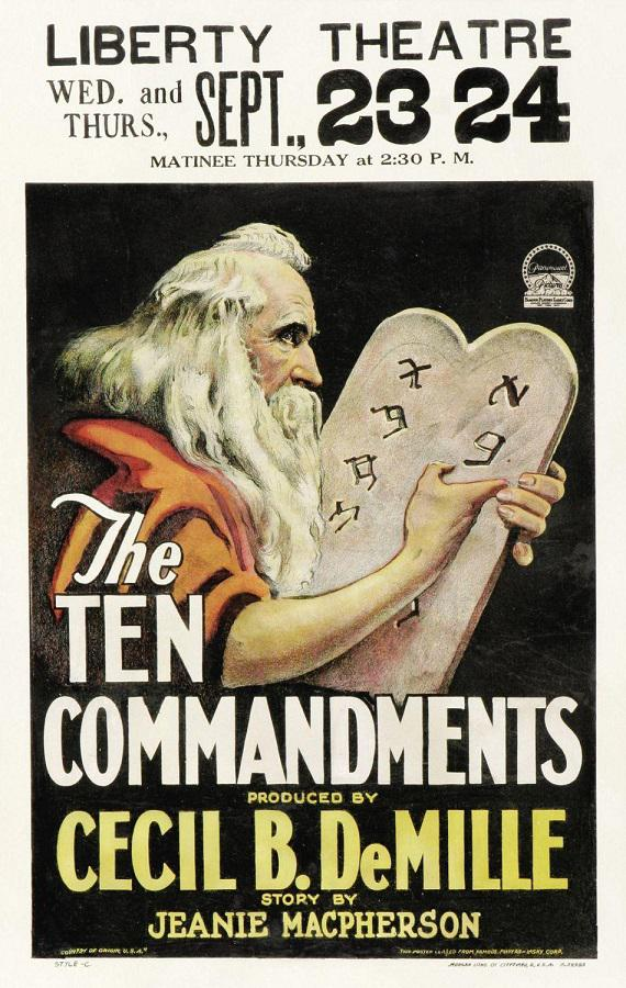 Ten Commandments - 10 Comandamenti -1923-