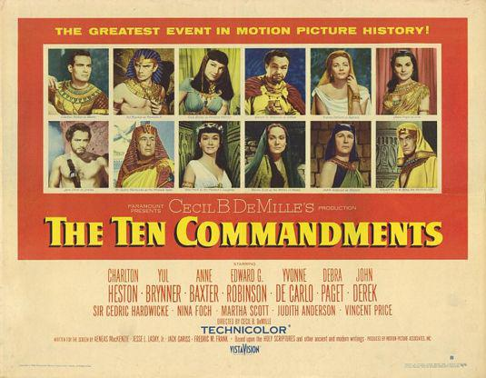 Ten Commandments - 10 Comandamenti -1956-