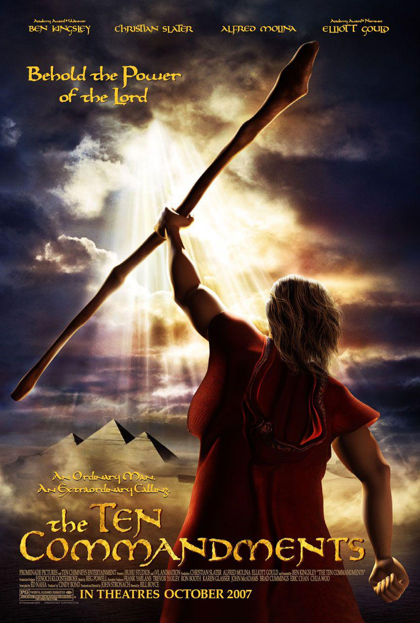 Ten Commandments - 10 Comandamenti -2007- Ben Kingsley - Christian Slater - Alfred Molina - Elliott Gould