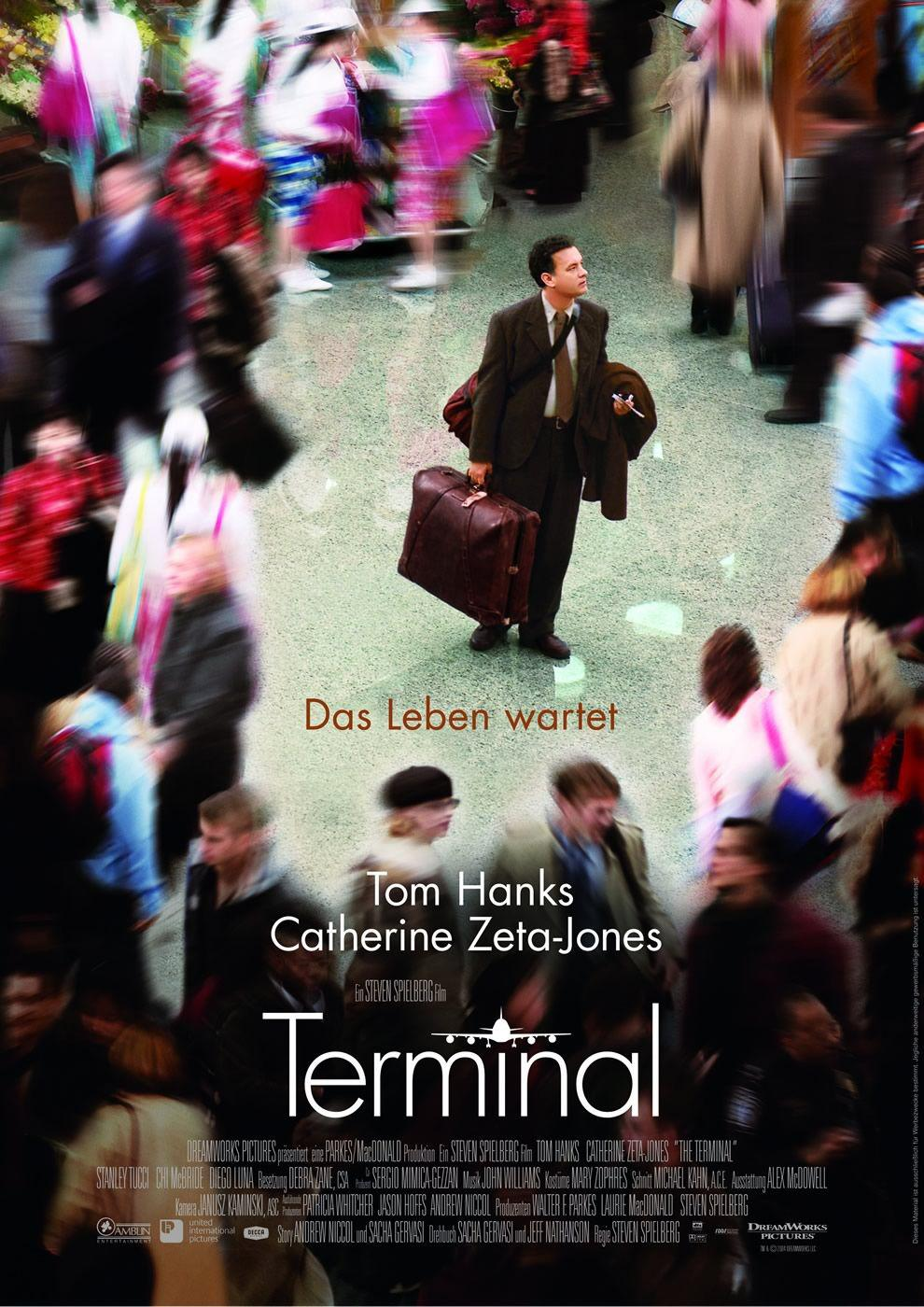 Film - Terminal - Tom Hanks  - poster