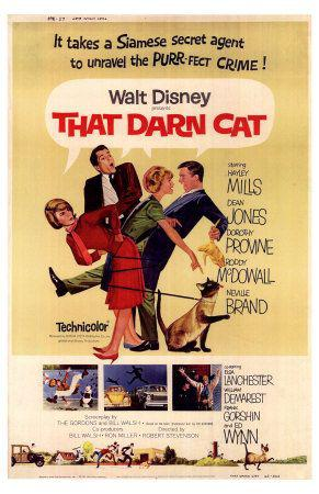 FBI Operazione Gatto (That Darn Cat)  - 1965 - film poster