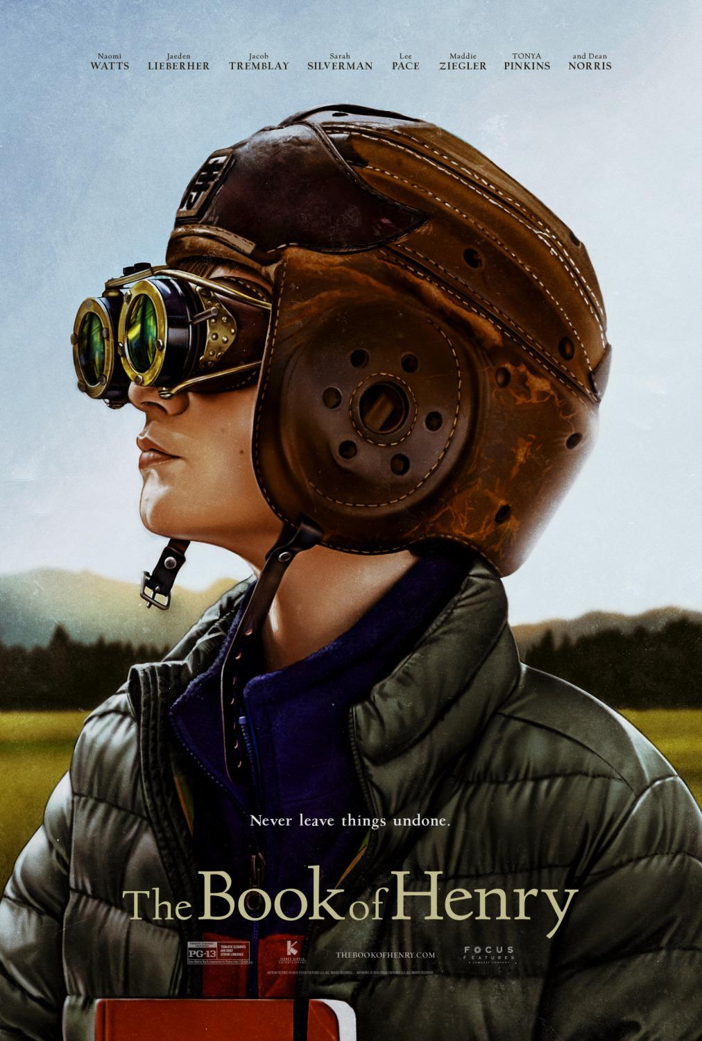 The Book of Henry - Il Libro di Henry - never leave things undone - poster