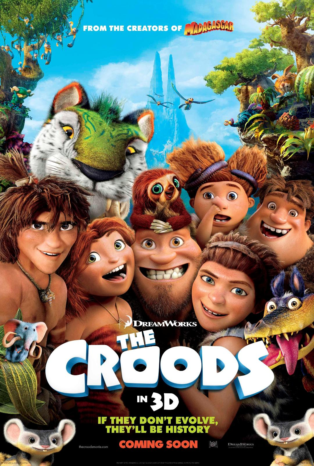 Cat film the croods