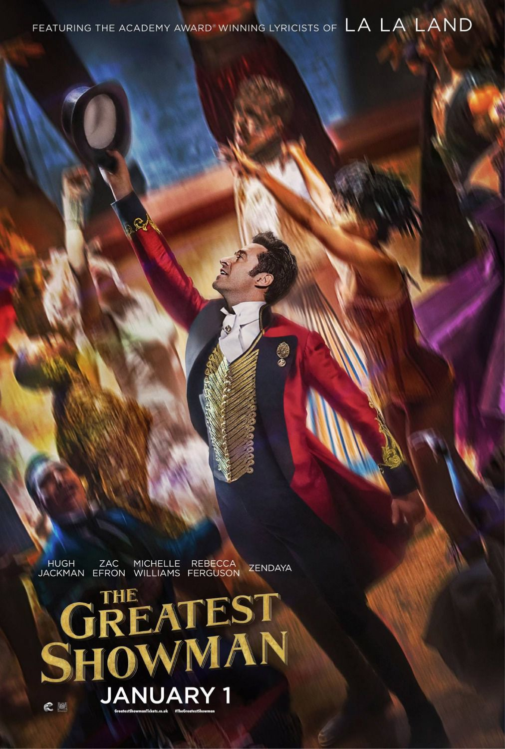 The Greatest Showman - spettacle