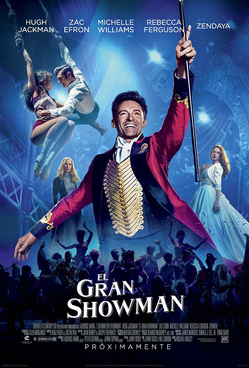 The Greatest Showman - film poster