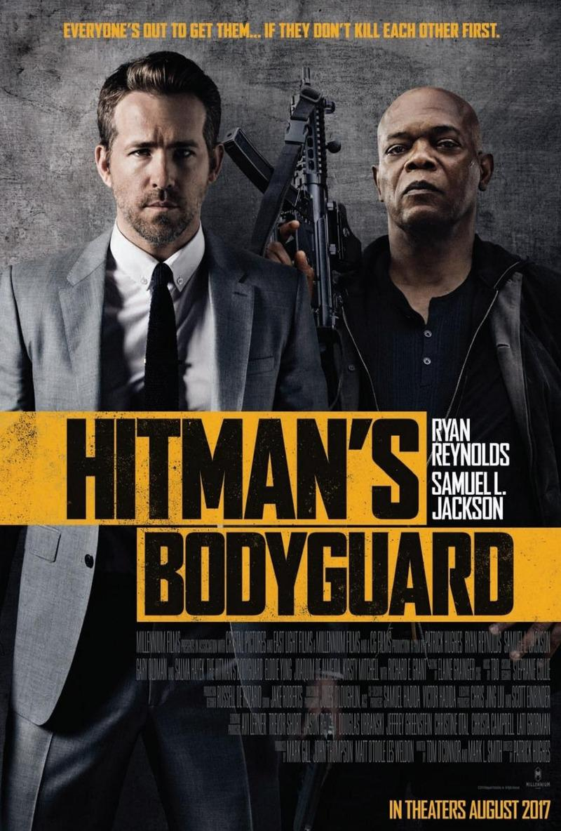 The Hitman's Bodyguard - live action film - Ryan Reynolds - Samuel L. Jackson