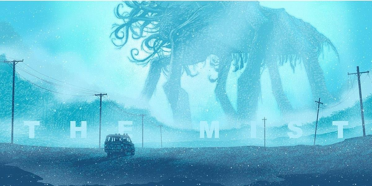 The Mist - series tv show - from an idea of Stephen King ...  titan monster