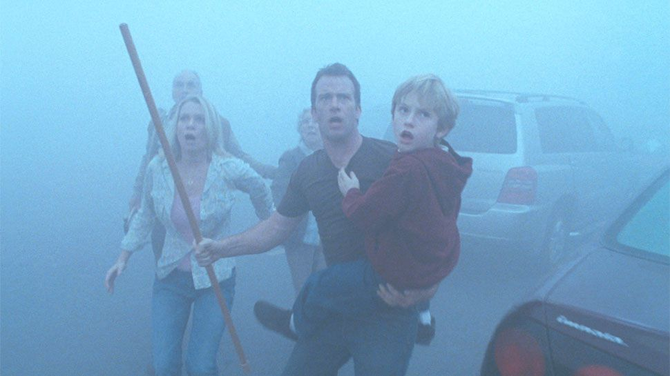 Film - The Mist - scene - scena - fog