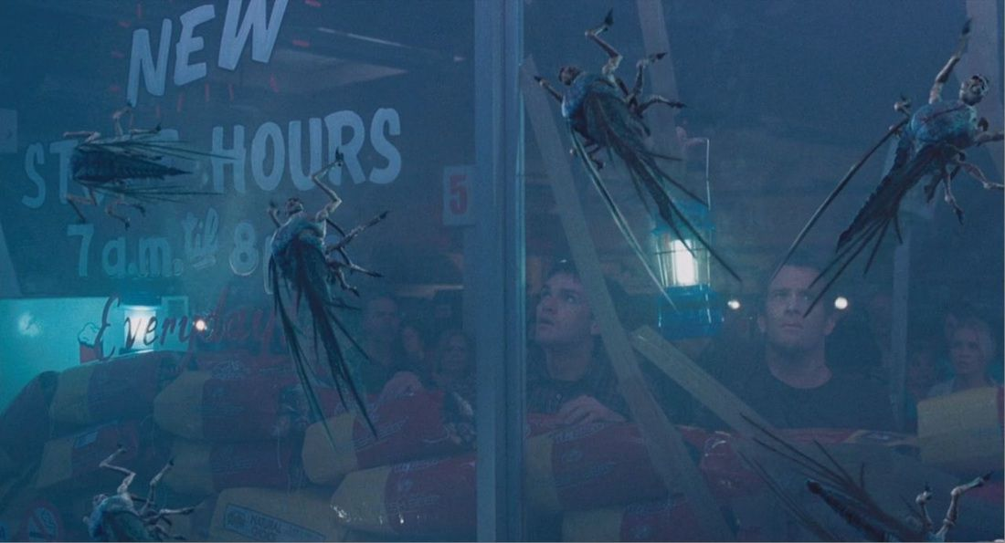 Film - The Mist - scene - scena - mosquitos - zanzare - fly