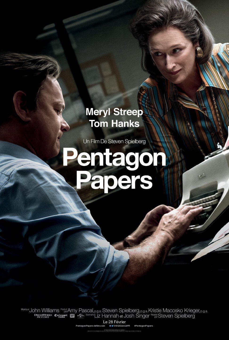 The Post - Pentagon Papers - Tom Hanks, Meryl Streep