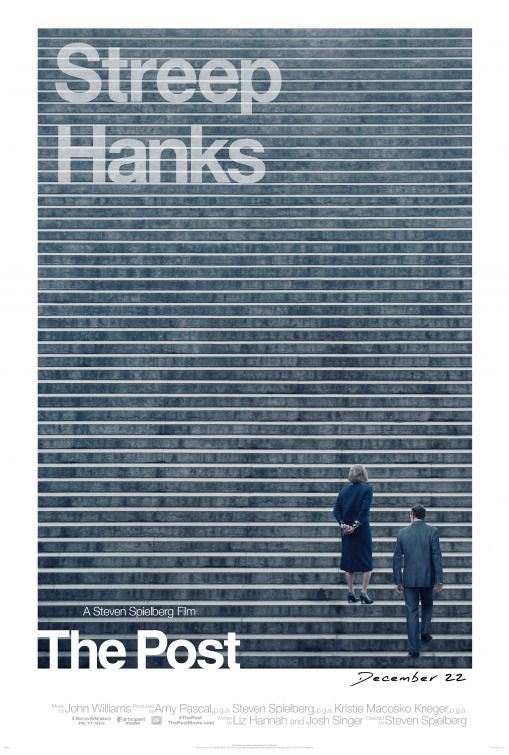 The Post - Streep and Hanks