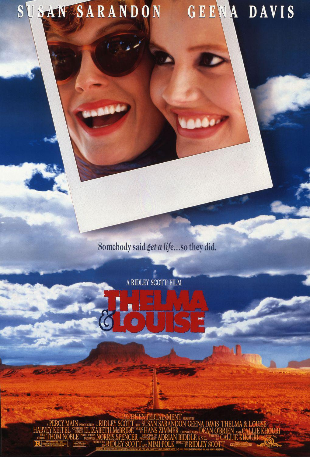 Thelma and Louise - Susan Sarandon - Geena Davis
