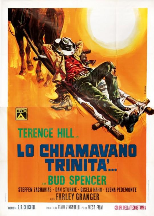 Lo chiamavano Trinità - They call me Trinity - Bus Spencer - Terence Hill