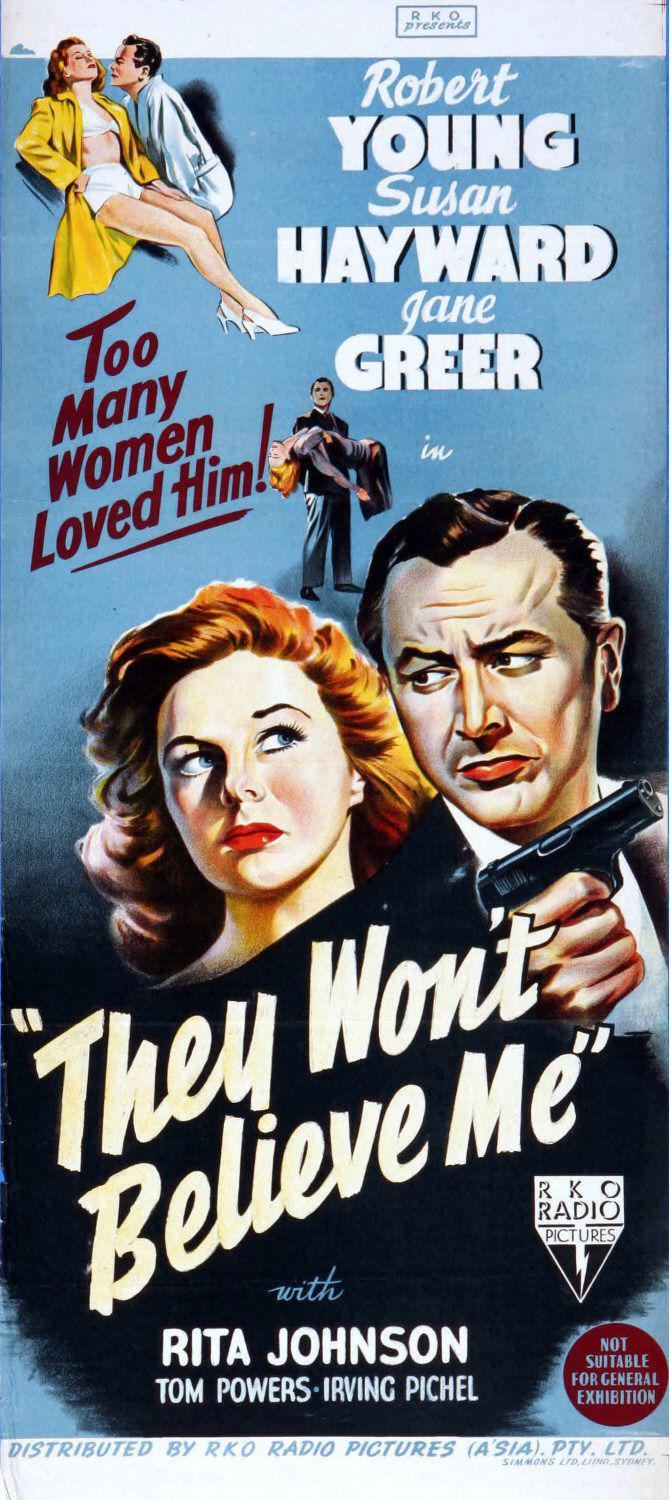 They wont believe me - Robert Young - Susan Hayward - Jane Greer