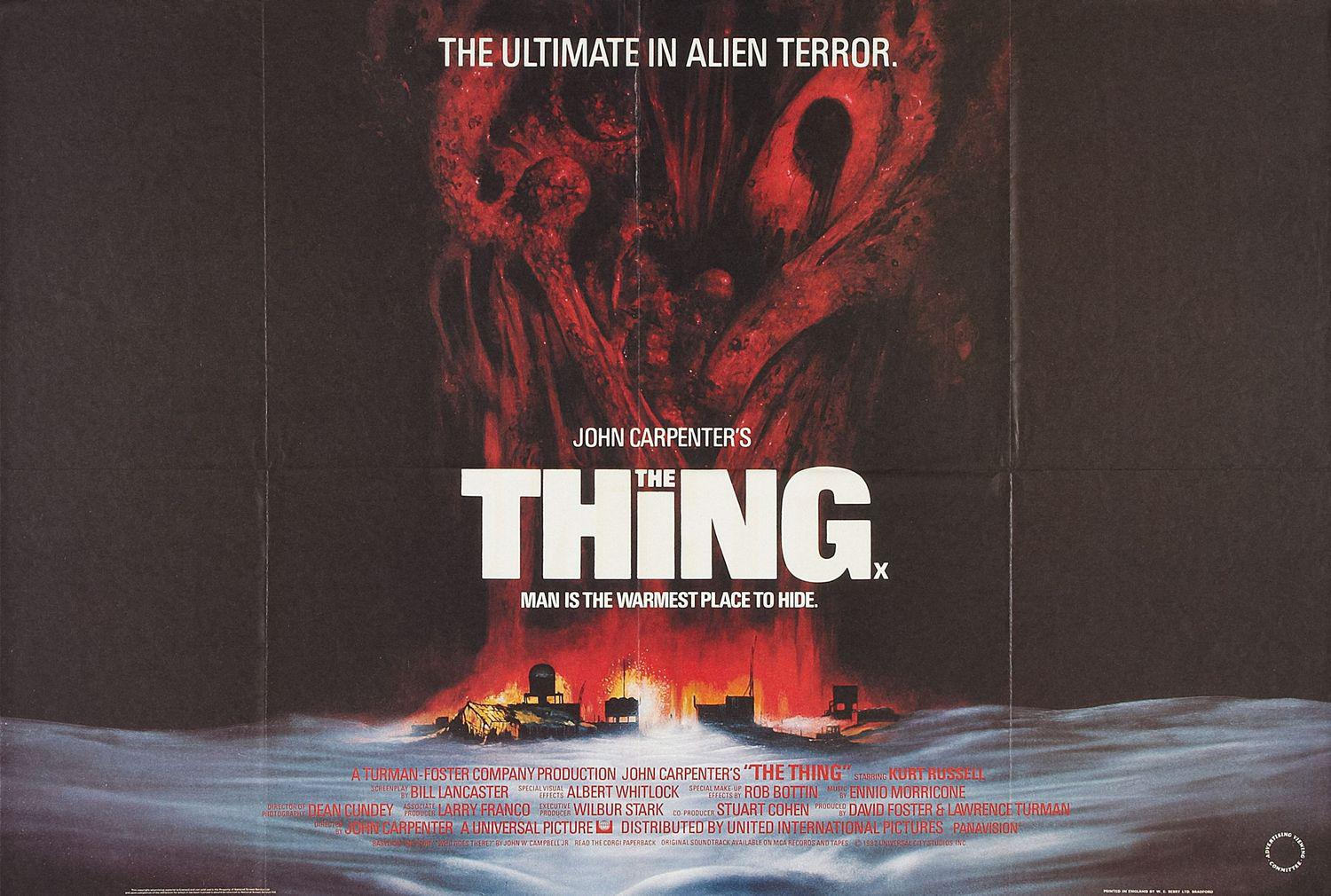 La Cosa - The Thing - 1982