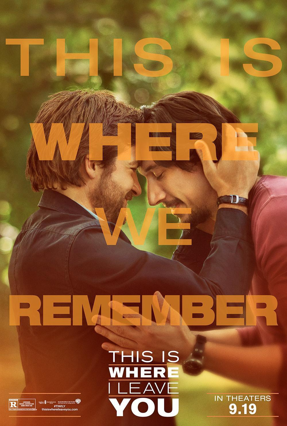 This is where I leave you - poster