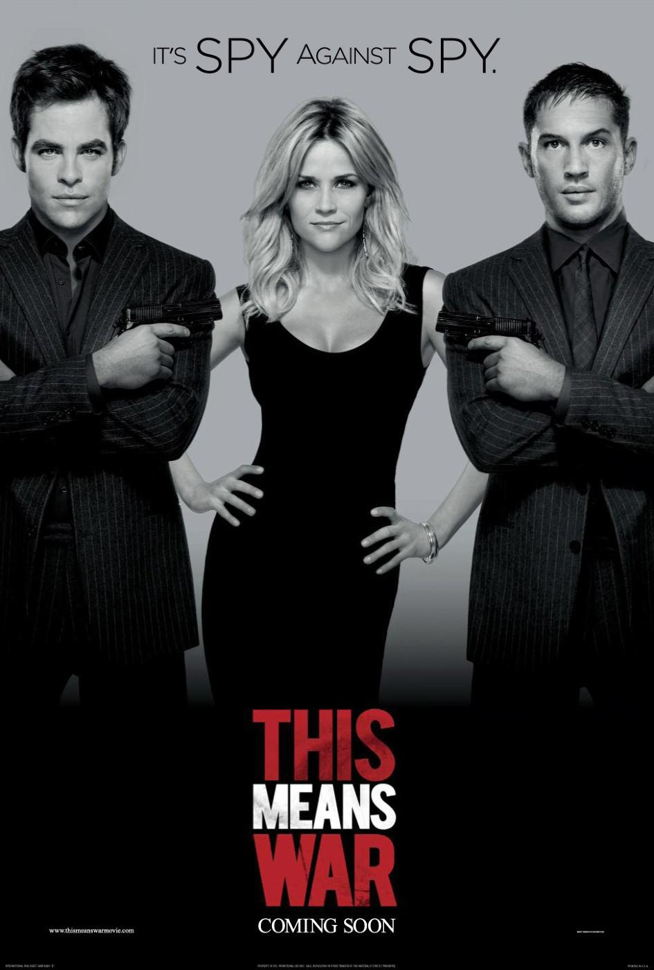 This means war - Two Spies - One Girl - No Rules - poster