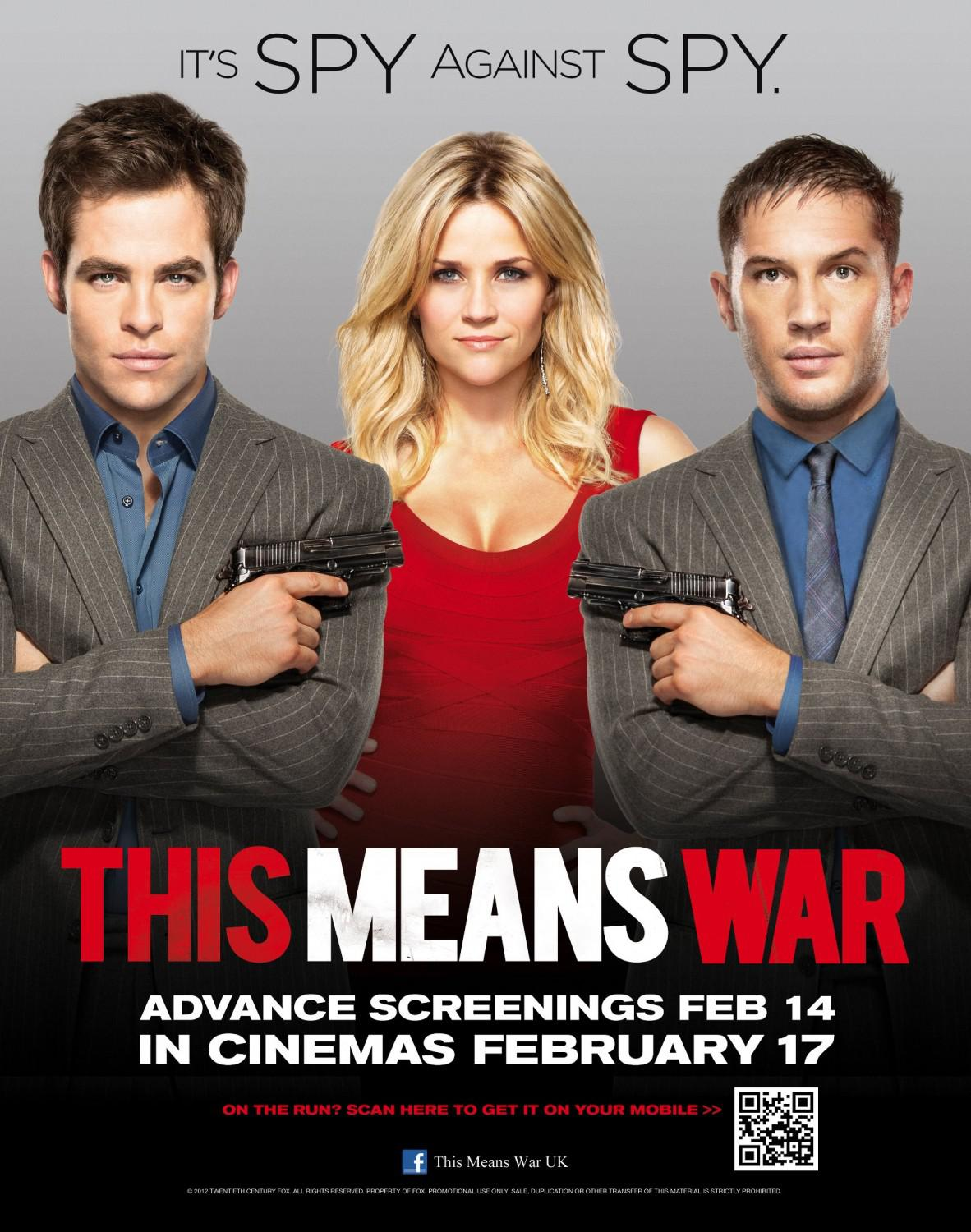 This means war - poster