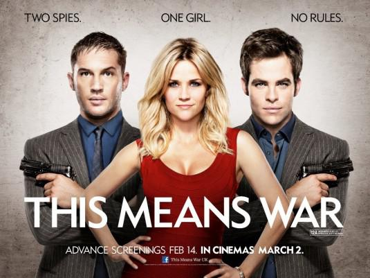 This means war - Two Spies - One Girl - No Rules