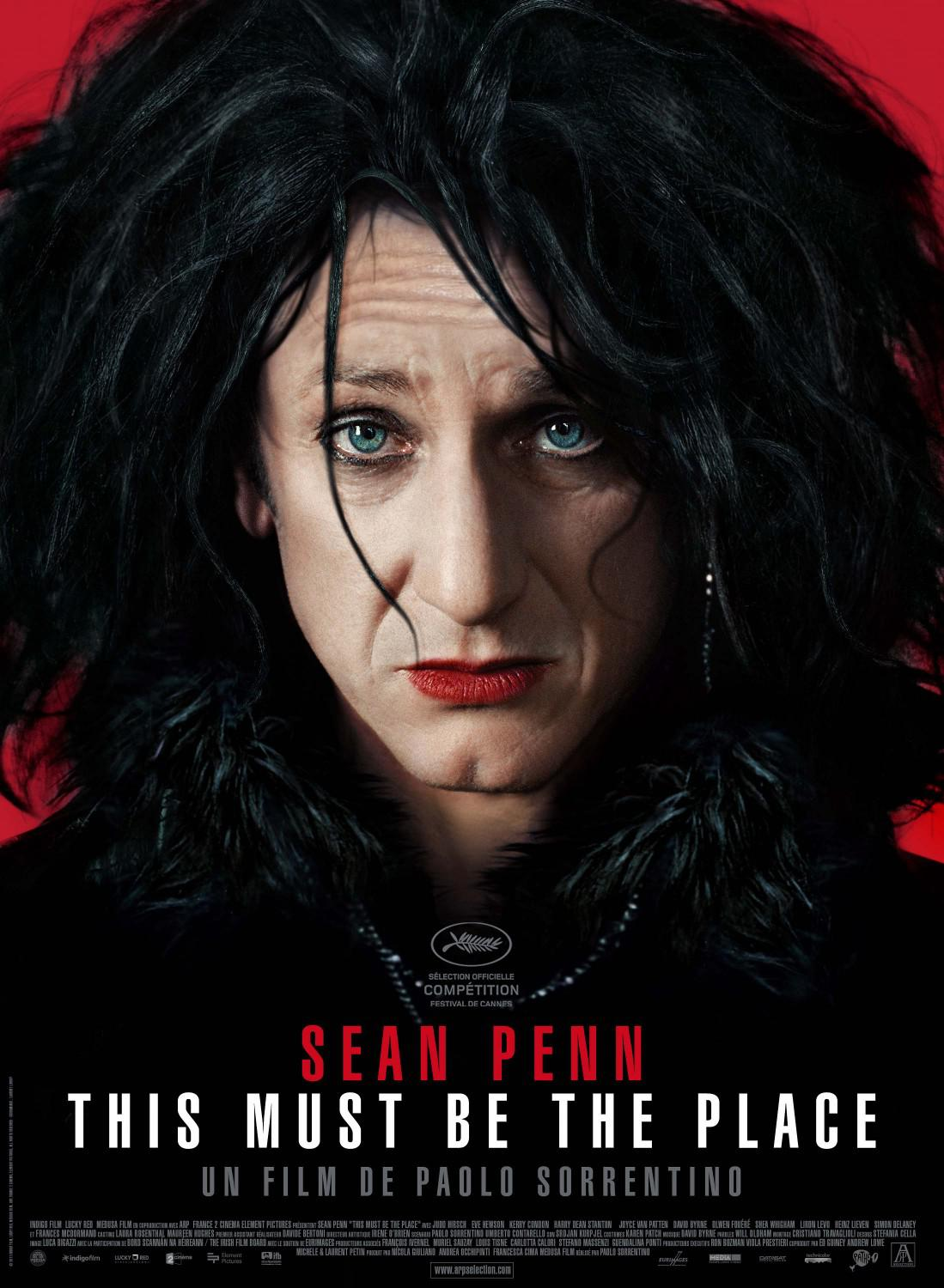 This must be the place - Sean Penn - poster