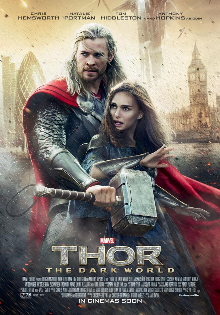 Thor - The dark world - poster  - Chris Hemsworth - Thor - Natalie Portman - Jane Foster