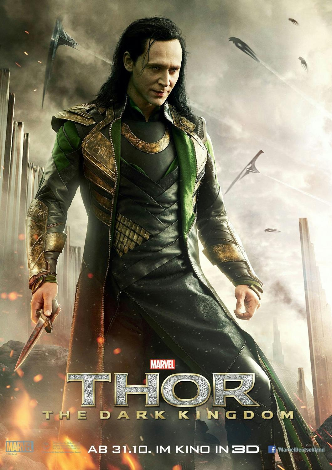 Thor - The dark world  -  Tom Hiddleston - Loki
