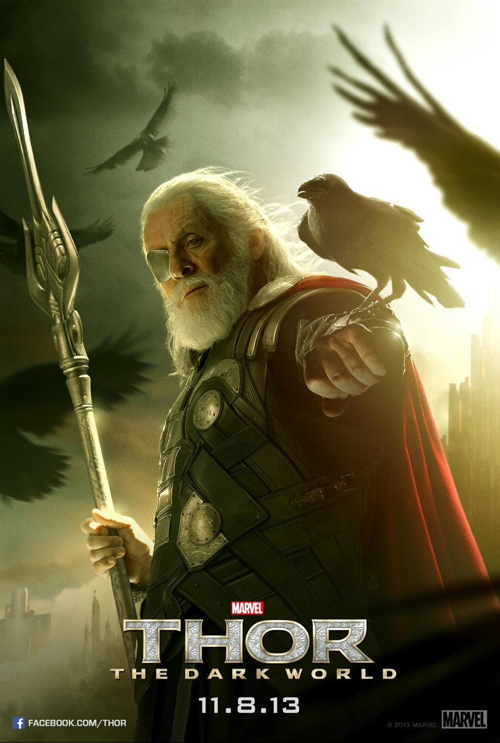 Thor - The dark world  -  Anthony Hopkins - Odino