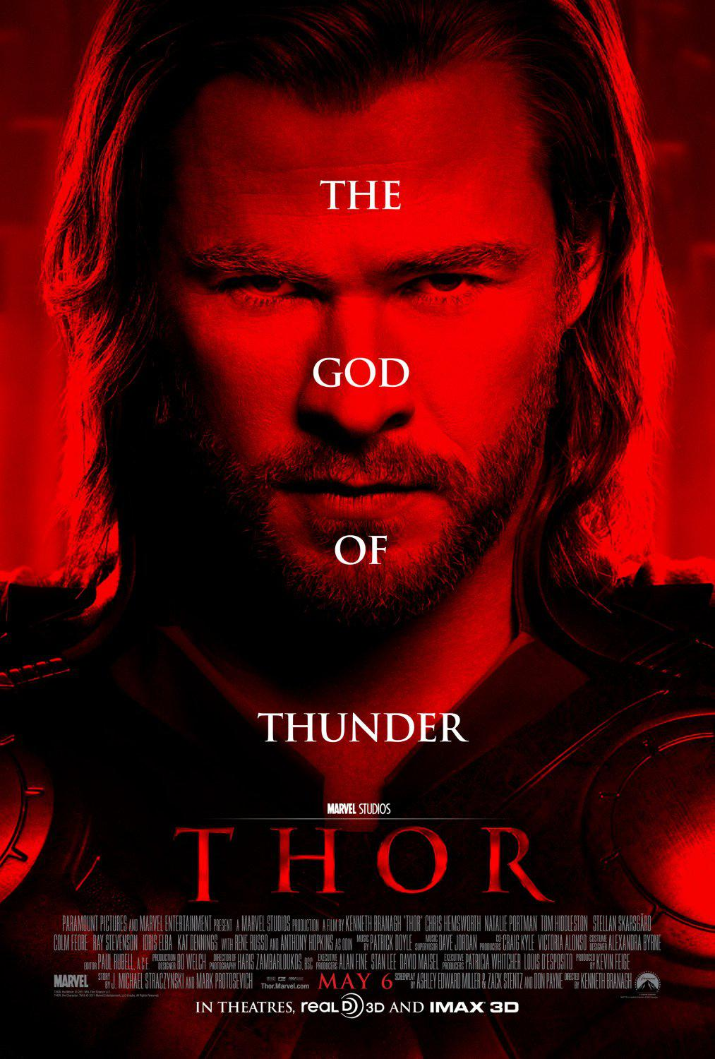 Thor live action movie