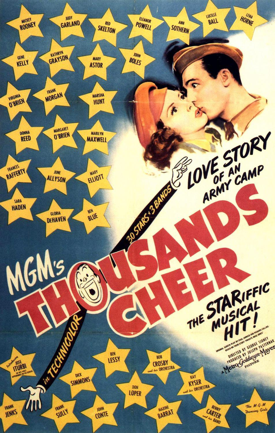 Thousands Cheer - old poster - the Stariffic Musical hit