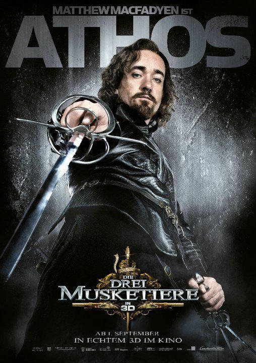 Athos - Atos - Tre Moschettieri - Three Musketeers - Los Tres Mosqueteros - Trois Mousquetaires - Drei Musketiere - 三銃士 - Три мушкетера - Matthew MacFadyen