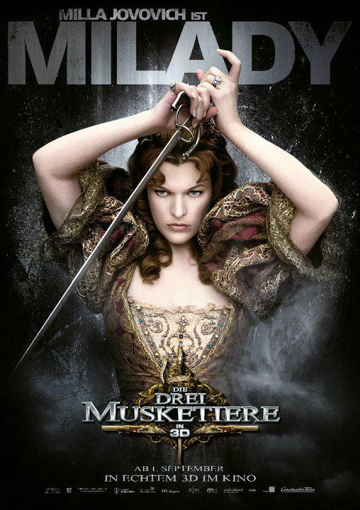 Milady - Tre Moschettieri - Three Musketeers - Los Tres Mosqueteros - Trois Mousquetaires - Drei Musketiere - 三銃士 - Три мушкетера  - Milla Jovovich