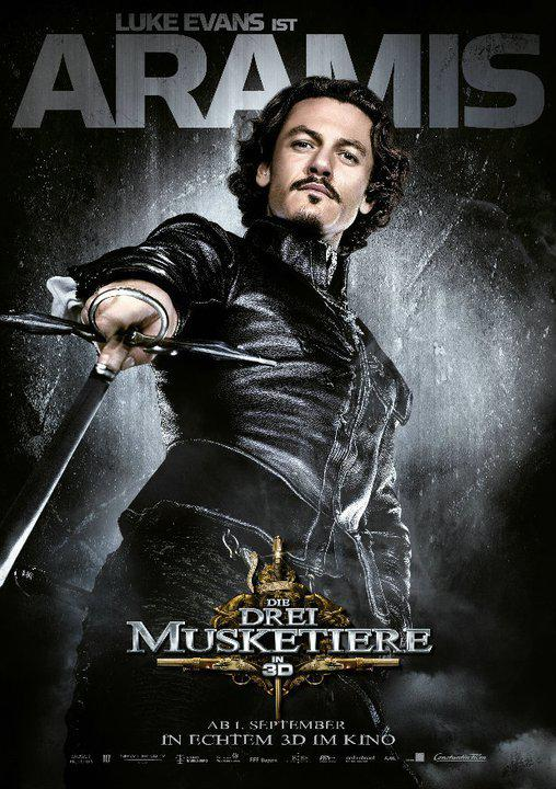 Aramis - Tre Moschettieri - Three Musketeers - Los Tres Mosqueteros - Trois Mousquetaires - Drei Musketiere - 三銃士 - Три мушкетера - Luke Evans