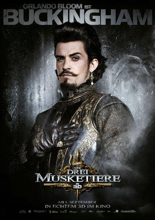Buckingham - Tre Moschettieri - Three Musketeers - Los Tres Mosqueteros - Trois Mousquetaires - Drei Musketiere - 三銃士 - Три мушкетера - Orlando Bloom