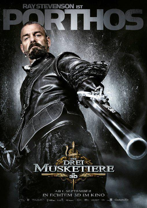 Portos - Porthos - Tre Moschettieri - Three Musketeers - Los Tres Mosqueteros - Trois Mousquetaires - Drei Musketiere - 三銃士 - Три мушкетера - Ray Stevenson