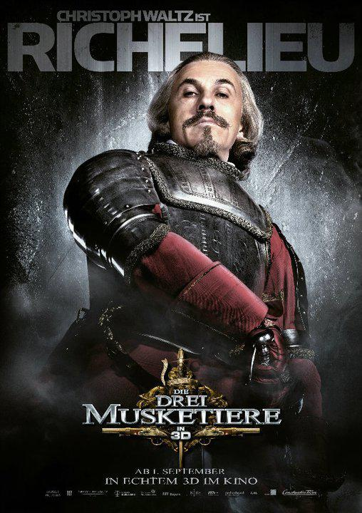 Richelieu - Tre Moschettieri - Three Musketeers - Los Tres Mosqueteros - Trois Mousquetaires - Drei Musketiere - 三銃士 - Три мушкетера - Christoph Waltz